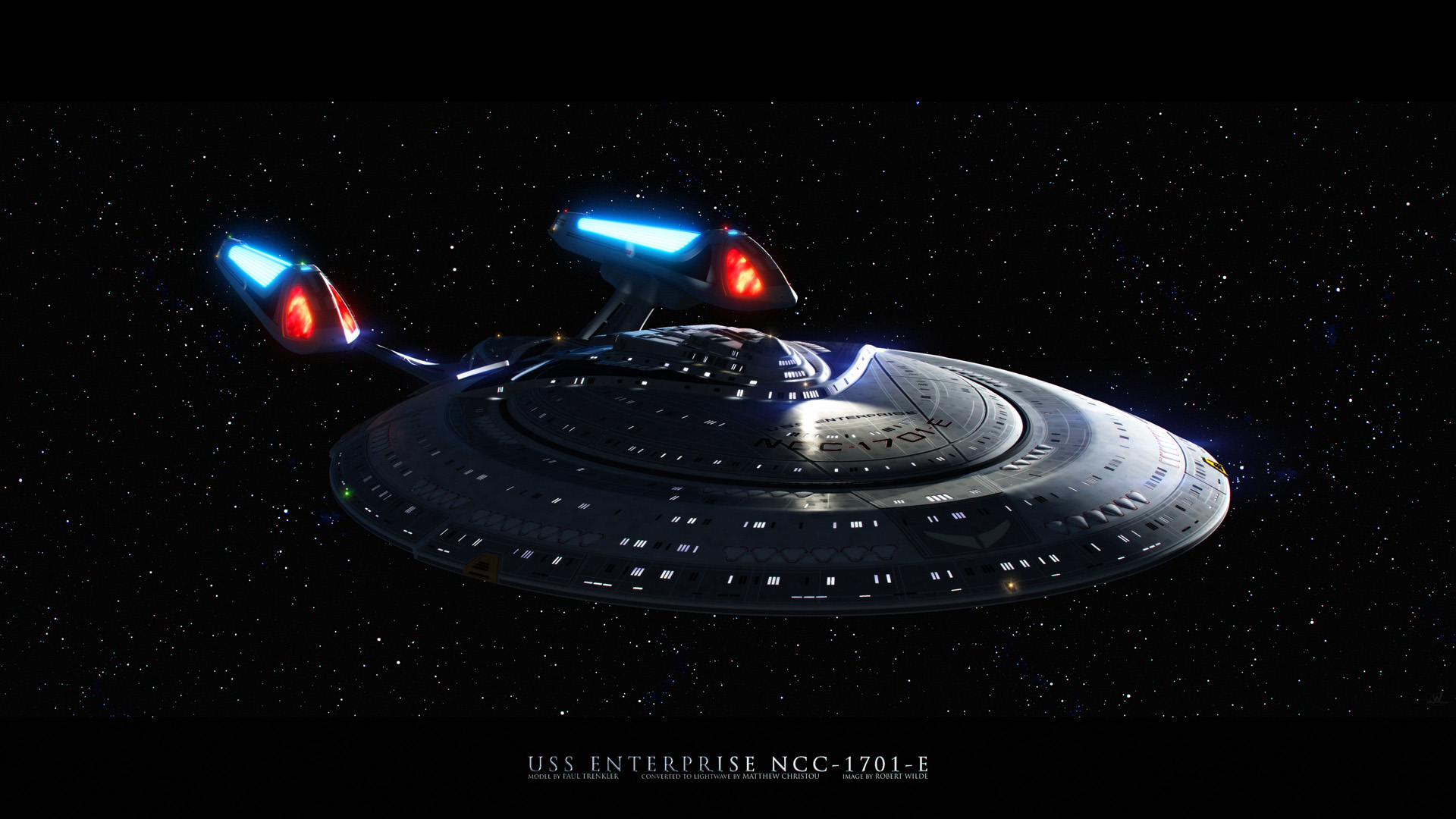 Star Trek Enterprise E wallpaper 116133 1920x1080
