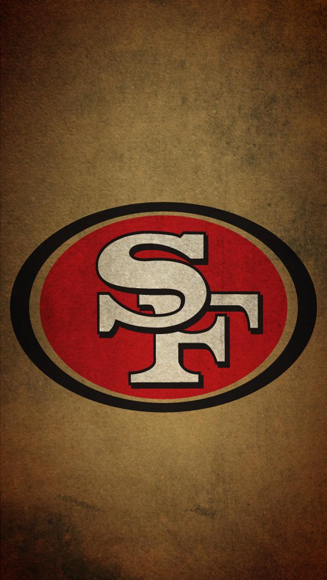 San francisco 49ers logo wallpaper wallpapersafari - 49ers wallpaper hd ...