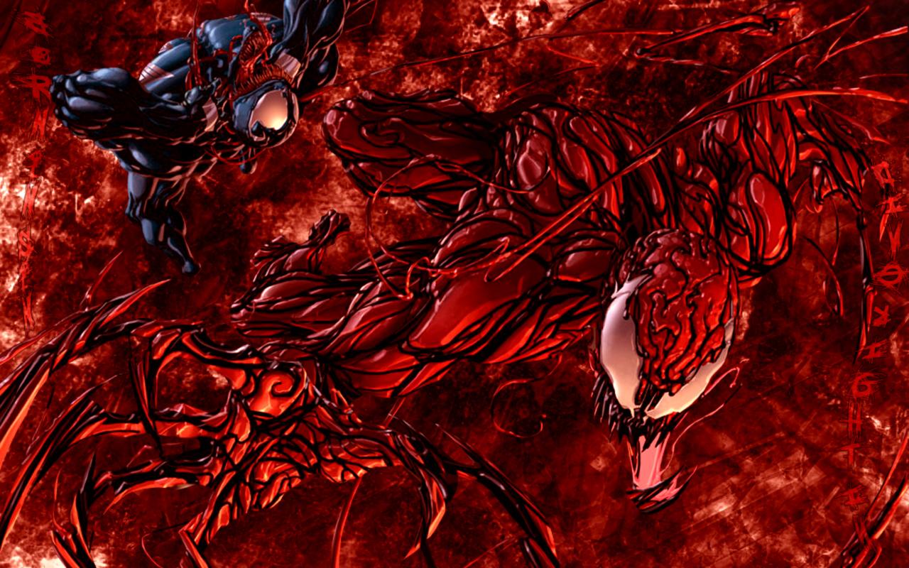 Venom personaje Guau Carnage y venom 1280x800