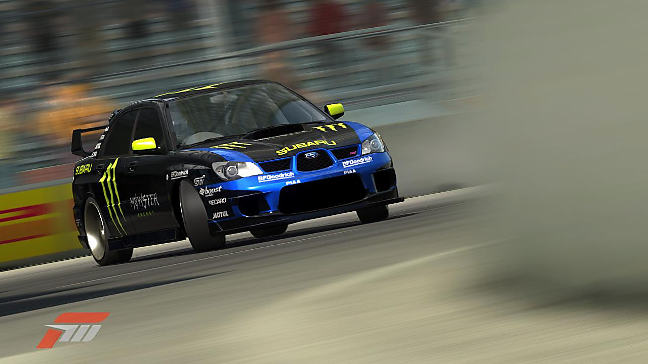 download Subaru Rally Car Impreza Wrx Sti Ken Block Auto 1280x720