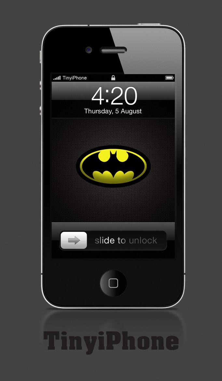 iphone wallpaper Batman HD by TinyIphone 682x1170