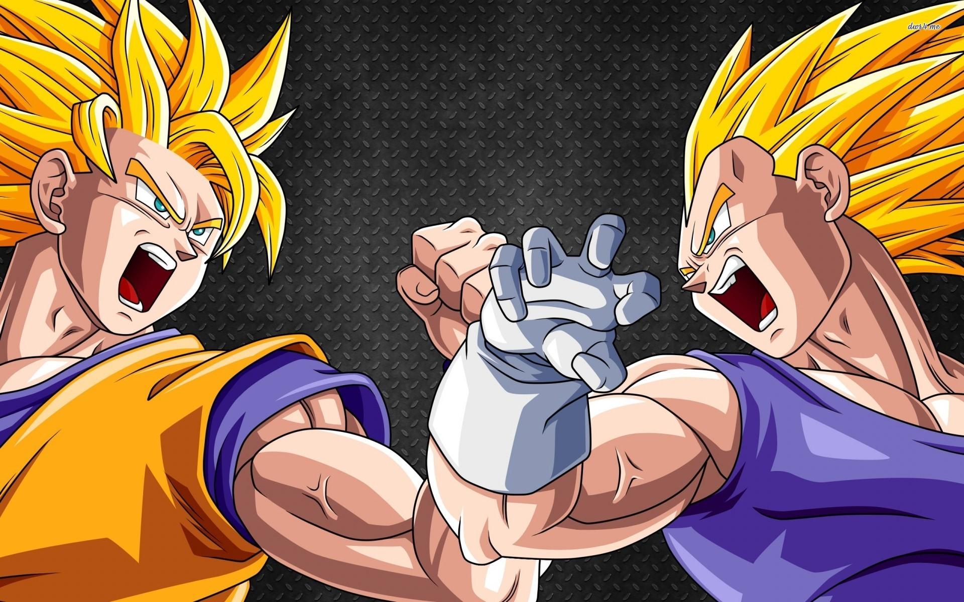 Anime Goku Vegeta Dragon Ball Z Dragon Ball 1920x1200