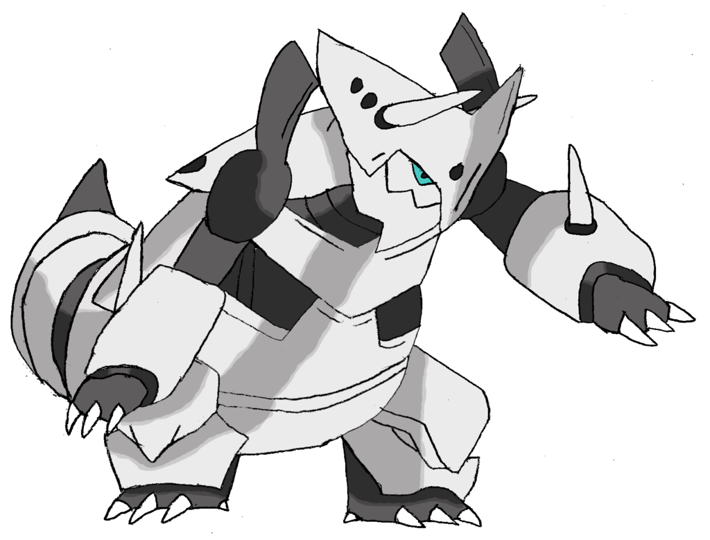 Mega Aggron by TheNemetrix 1024x779