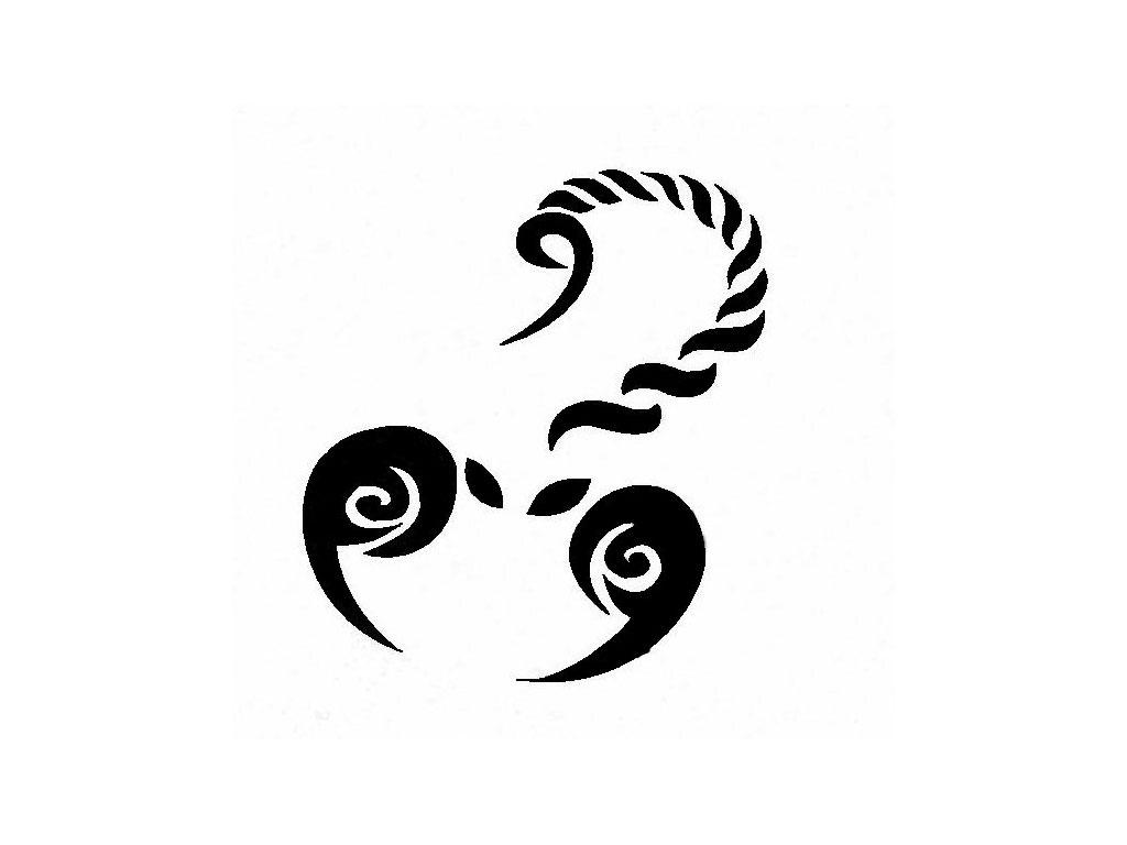 Designs Simple Tribal Scorpion Tattoo Wallpaper Download 1024x768
