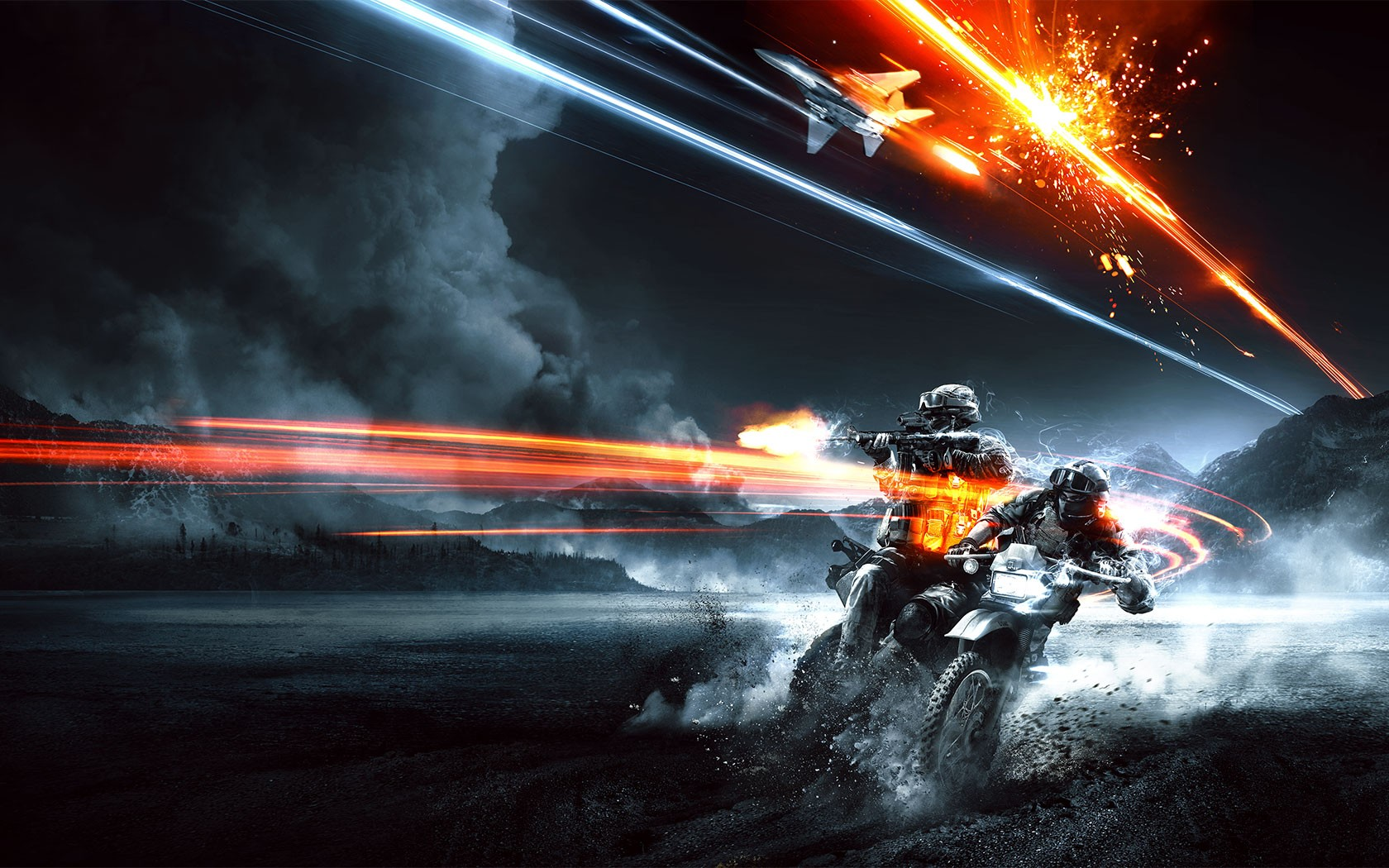 download Battlefield 3 shooting dirtbike game End Game 1680x1050