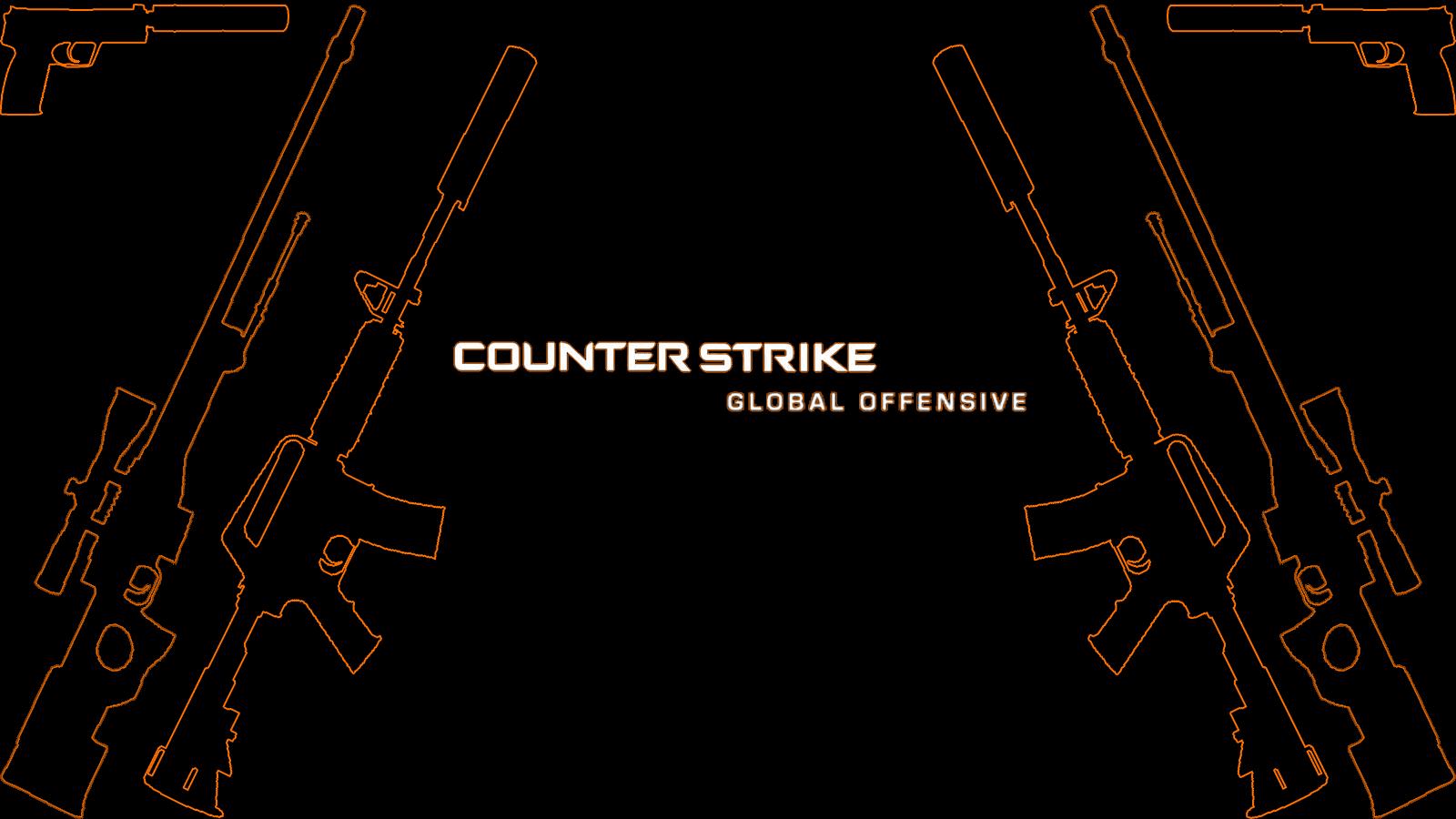 simplistic csgo wallpaper [1600x900] GlobalOffensive 1600x900