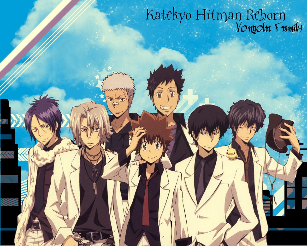 un Post de Wallpapers de mi anime favorito Katekyo Hitman Reborn 1280x1024