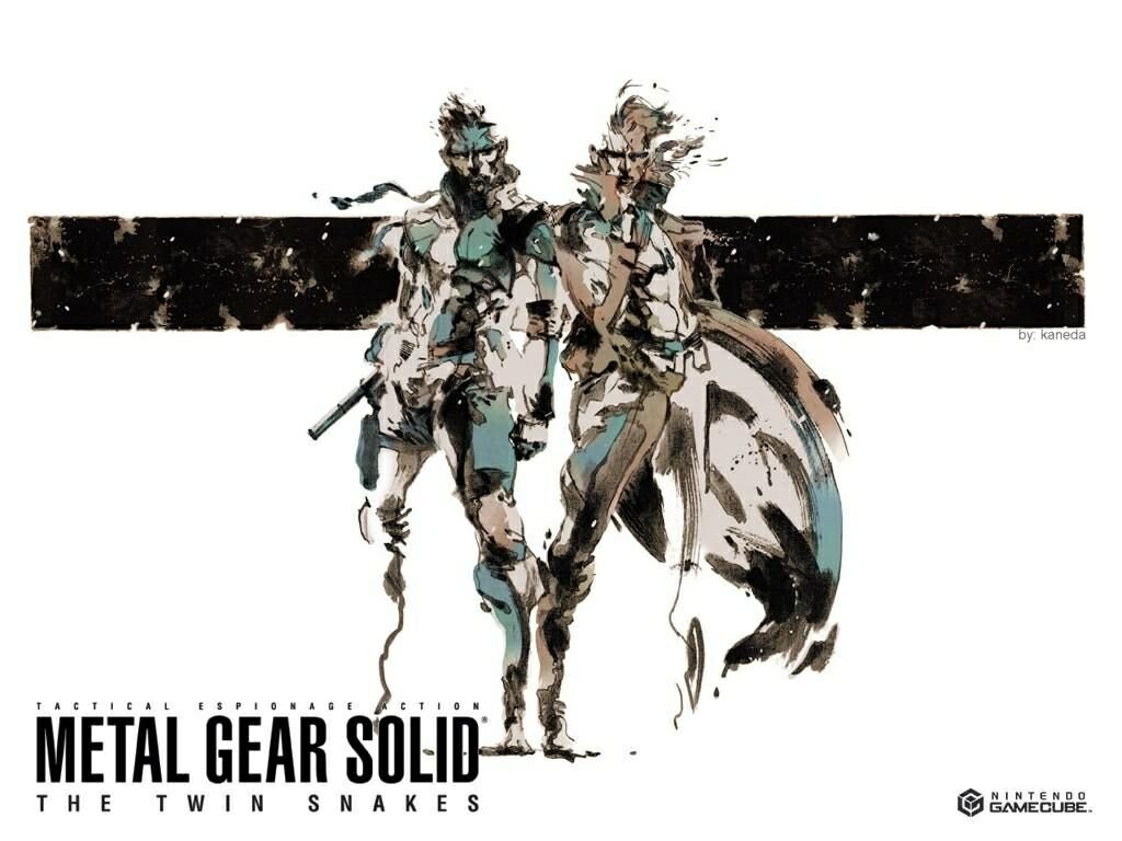 Free Download Metal Gear Solid The Twin Snakes Hd Wallpaper 1533