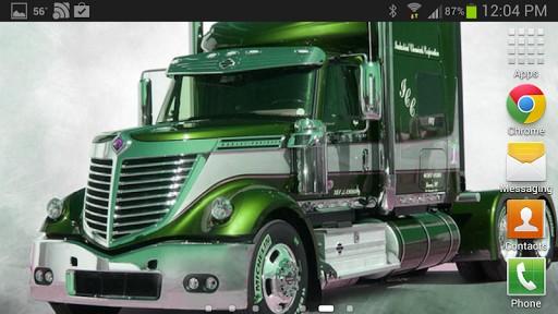 Tractor Trailer Rings : Tractor trailer wallpaper wallpapersafari