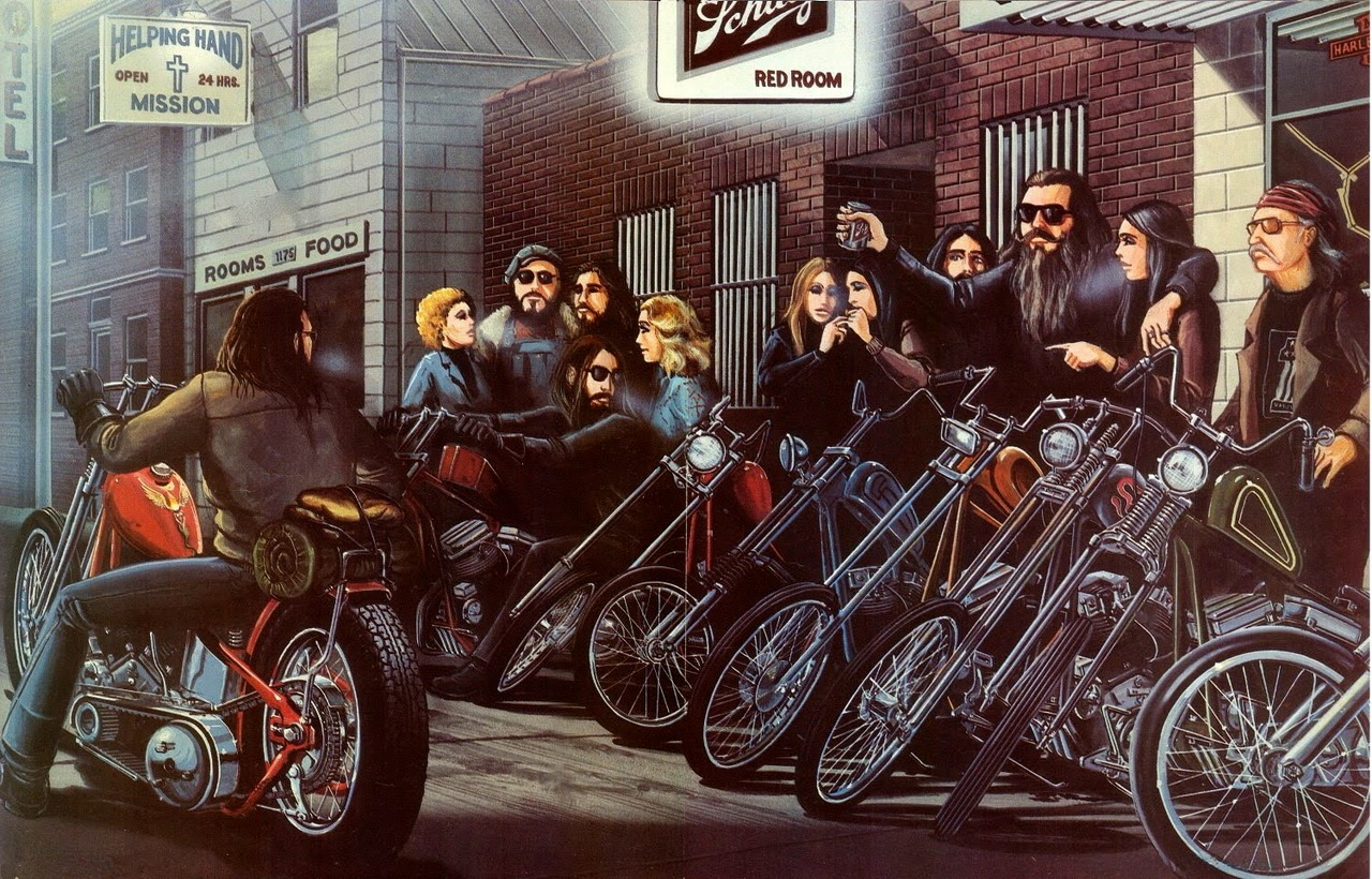 David Mann painting of the day 1280x820