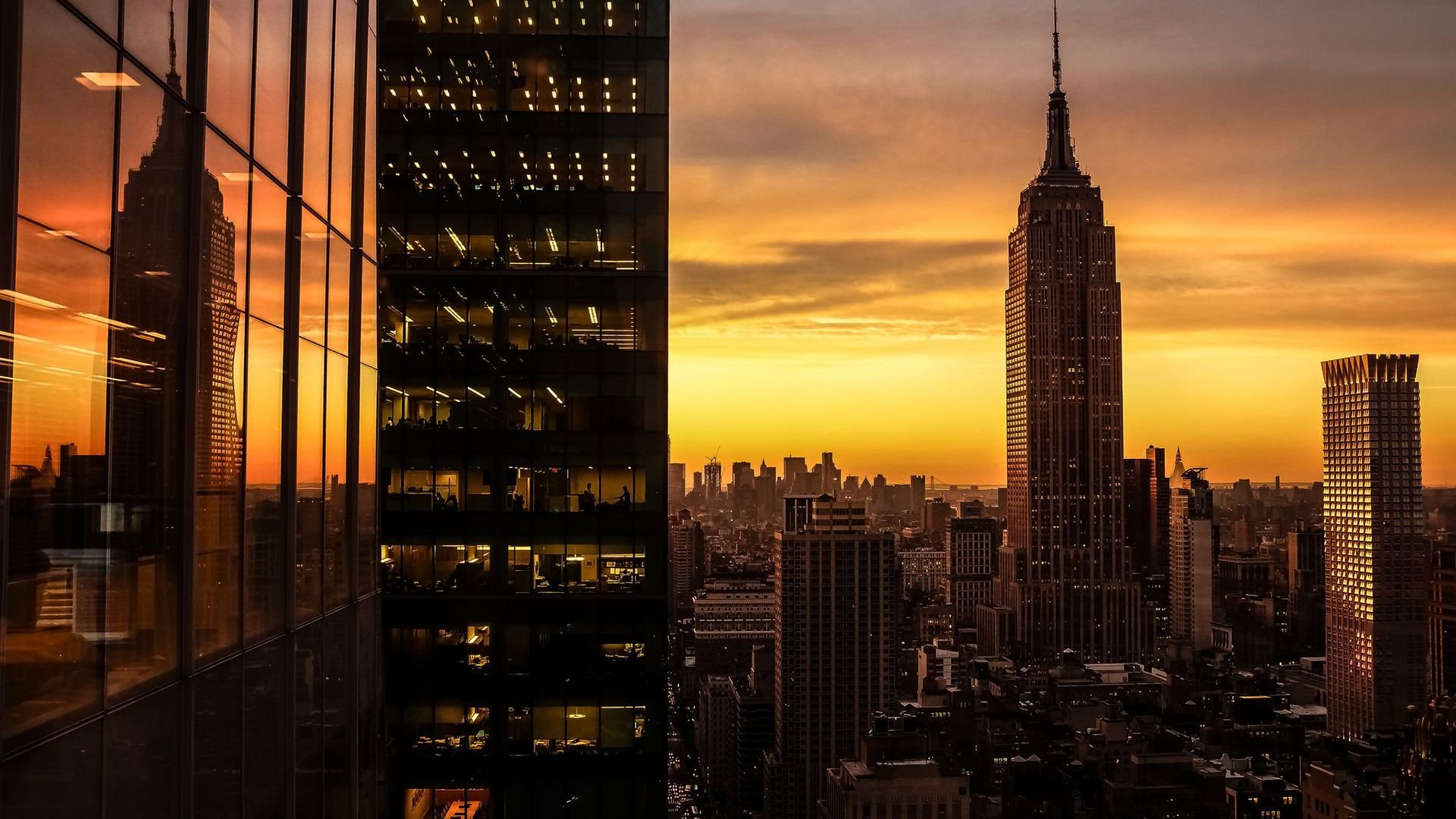 new york city new york empire state building resolution 1920x1200 date 1920x1080