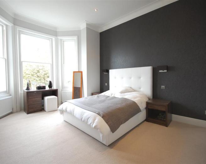 Feature Wall Wallpaper Bedroom Design Ideas Photos Inspiration 656x524