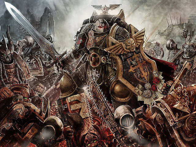 spacemarine wallpaper image   Dark ForceScience FictionFantasy Fan 640x480