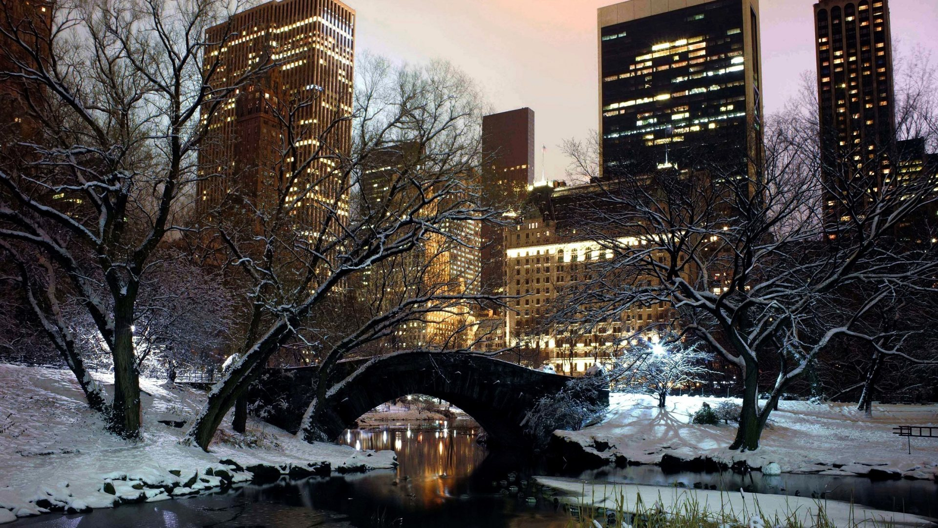 New York City Wallpaper Winter New York City Winter W...