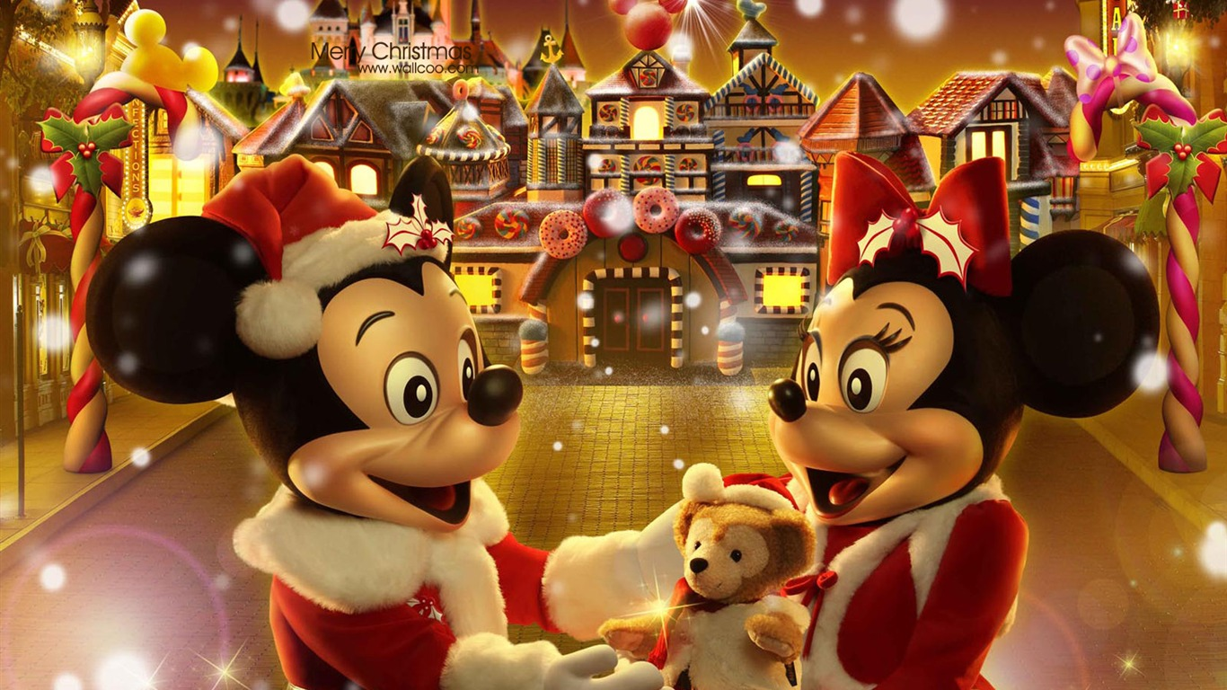Free Download Mickey And Minnie The Gingerbread Man Christmas