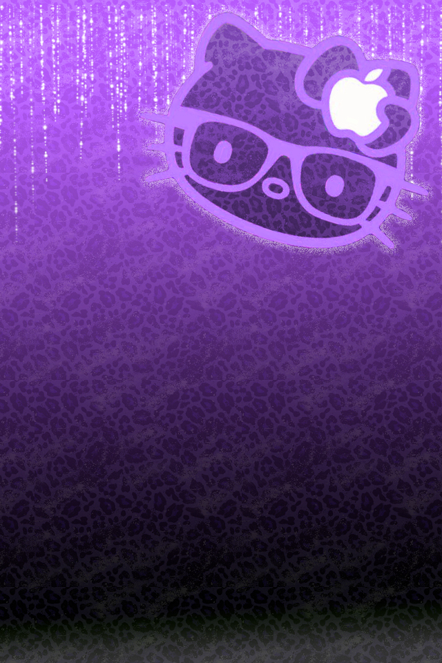 640x960px Purple Hello Kitty Wallpaper Wallpapersafari