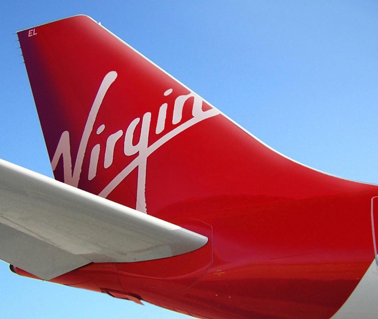 Rear End Of The Virgin Aircraft Wallpaper PaperPull 1280x1080