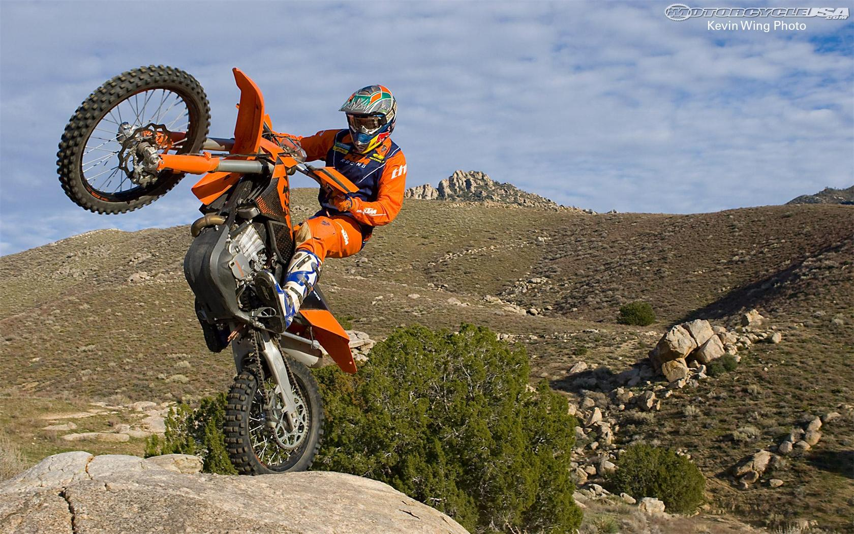 KTM Dirt Bike Wallpapers   6 of 6   1680x1050   Motorcycle USA 1680x1050