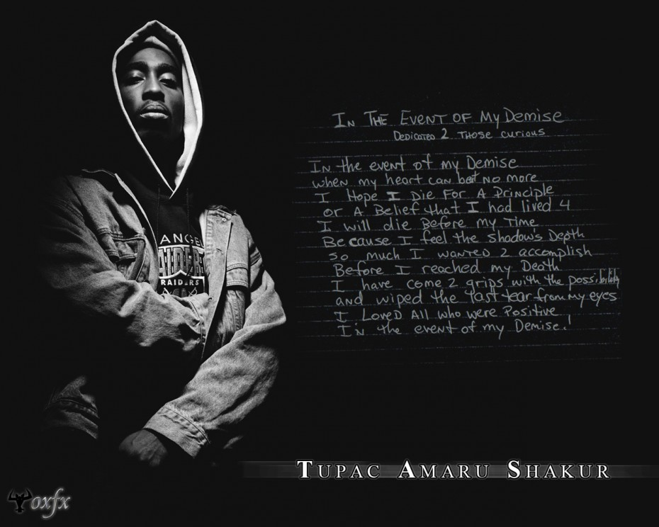 Tupac Shakur Quotes About Life Tupac Thug Life Background Graphic In 930x744