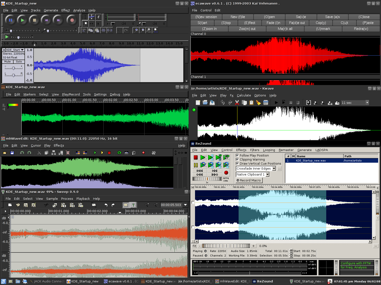ArtistX 05   A Complete Multimedia Studio on a Live DVD 1600x1200
