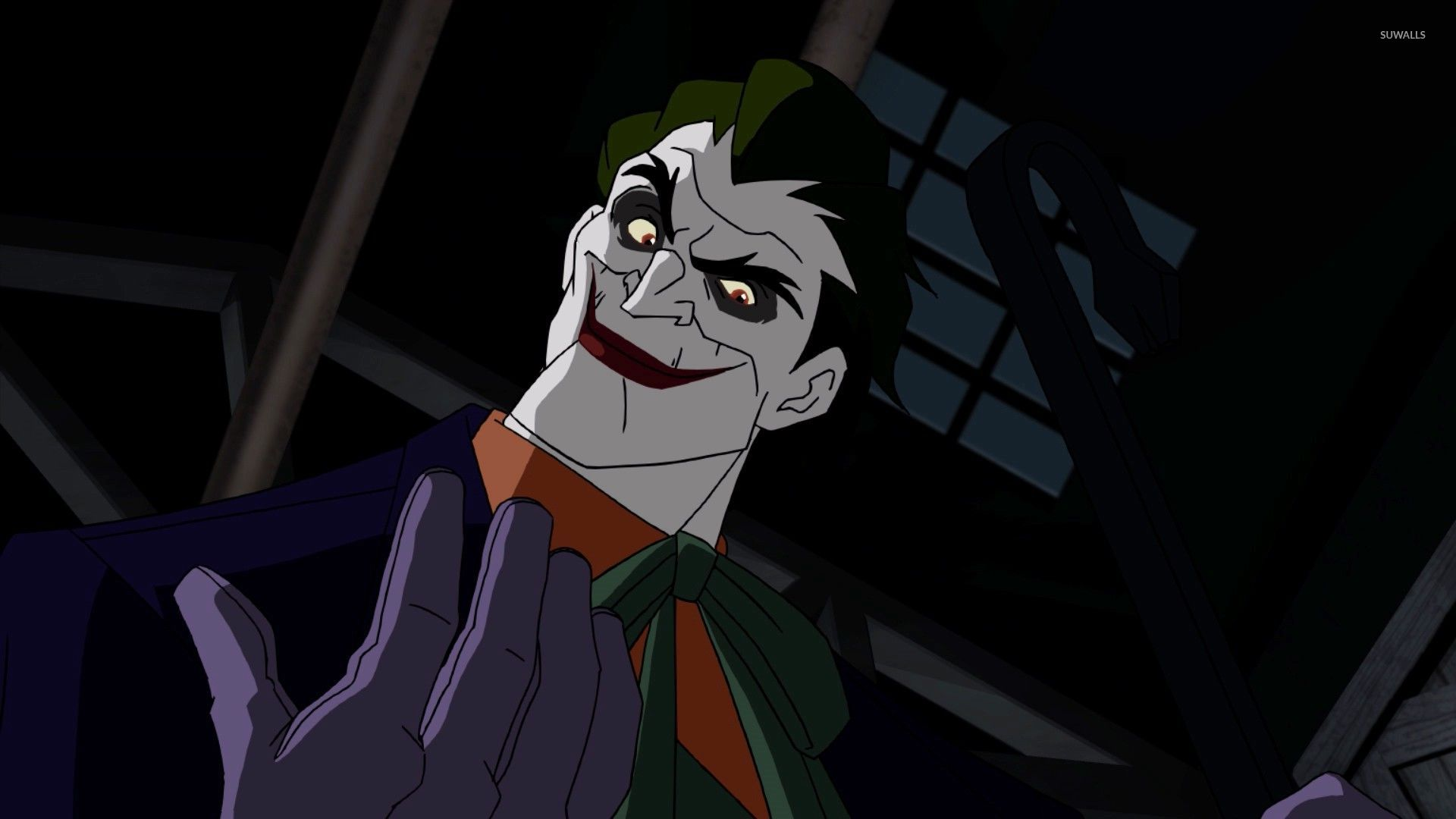 The Joker in Batman Under the Red Hood wallpaper 1920x1080