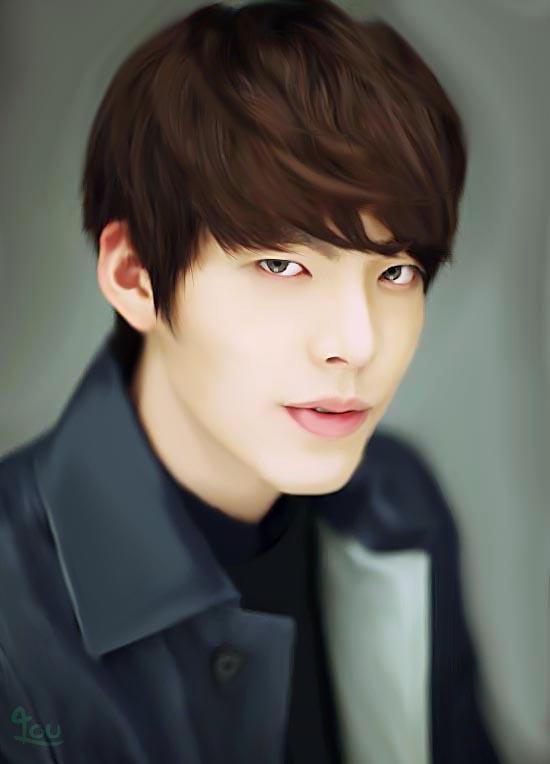 Kim Woo Bin by munsora 550x764