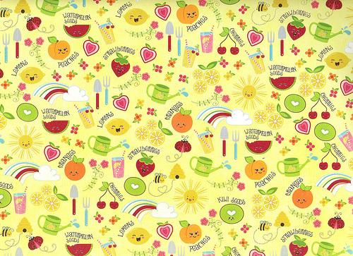 Cute Fruit Background Cute fruits 500x363