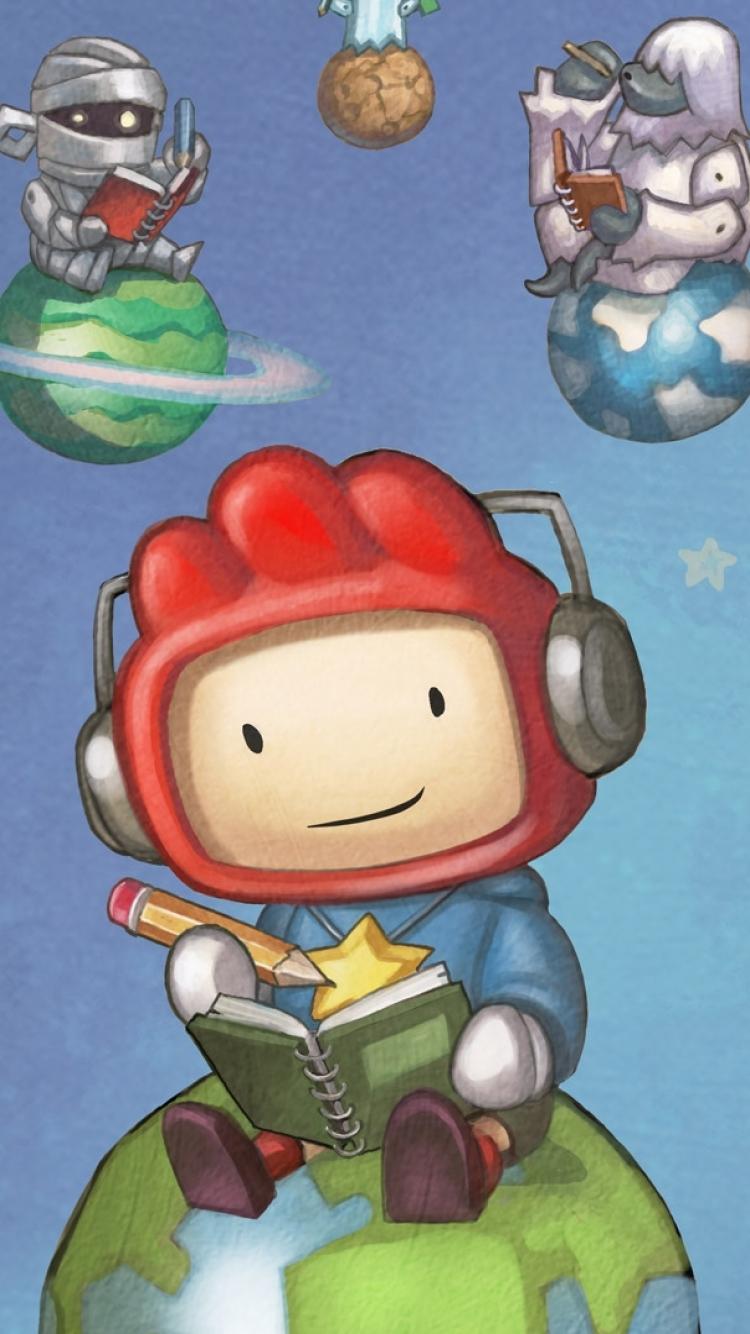 Video GameScribblenauts Unlimited 750x1334 Wallpaper ID 365843 750x1334