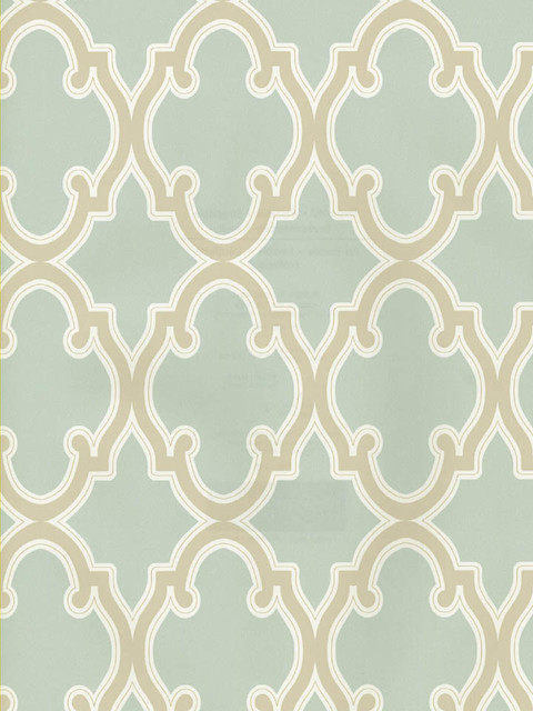 Moroccan Trellis Wallpaper   Mediterranean   Wallpaper   by American 480x640