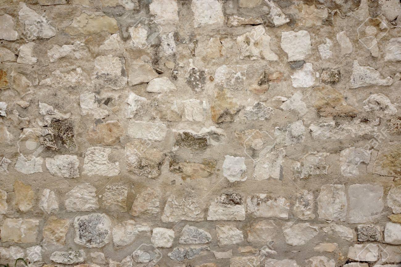 Granite Stone Wall With Cement Seam Stonework Background Texture 1300x866