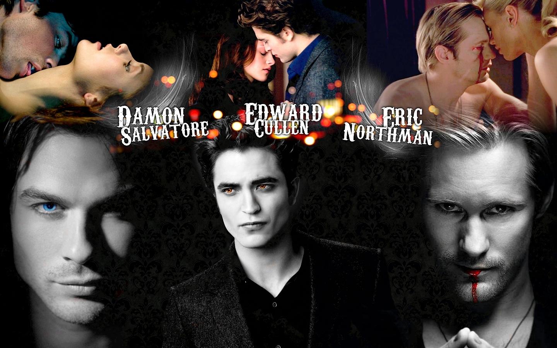 Damon and Elena Wallpaper   The Vampire Diaries TV Show 1440x900