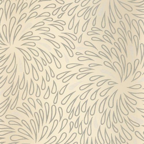Amelie Cream tear drop modern design floral wallpaper GB17853A 500x500