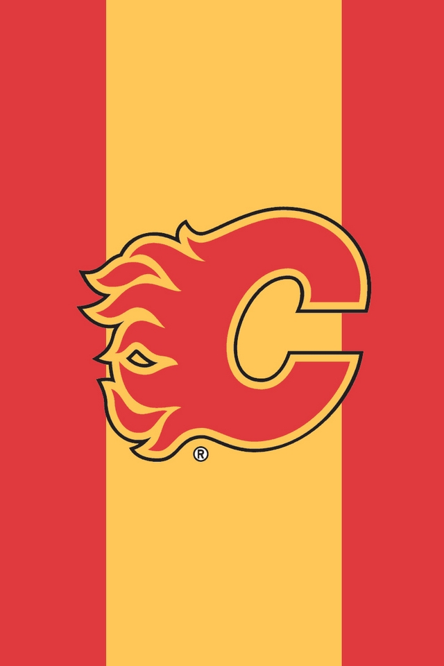 Calgary Flames   Download iPhoneiPod TouchAndroid Wallpapers 640x960