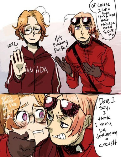 2p canda x canda Wallpaper images in the 2P hetalia club tagged 2p 386x500