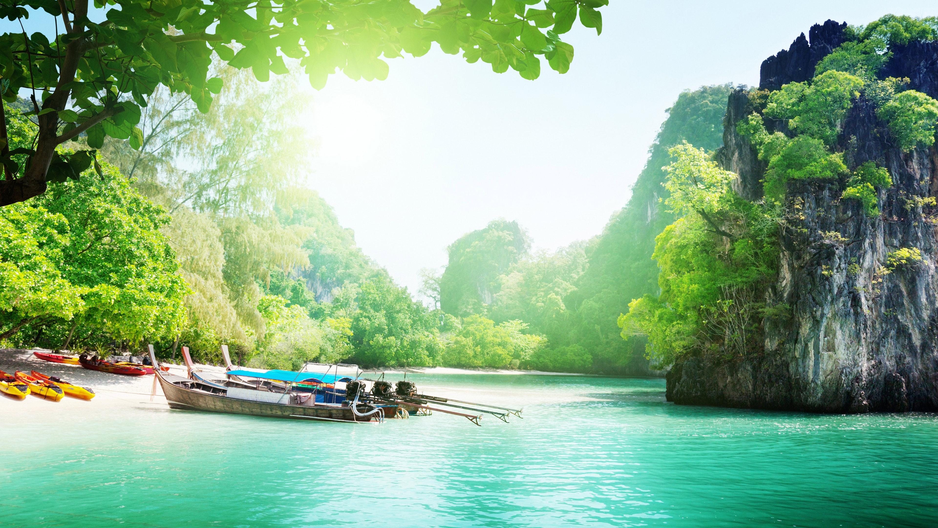 Beautiful Lake Landscape 3840 x 2160 3840x2160