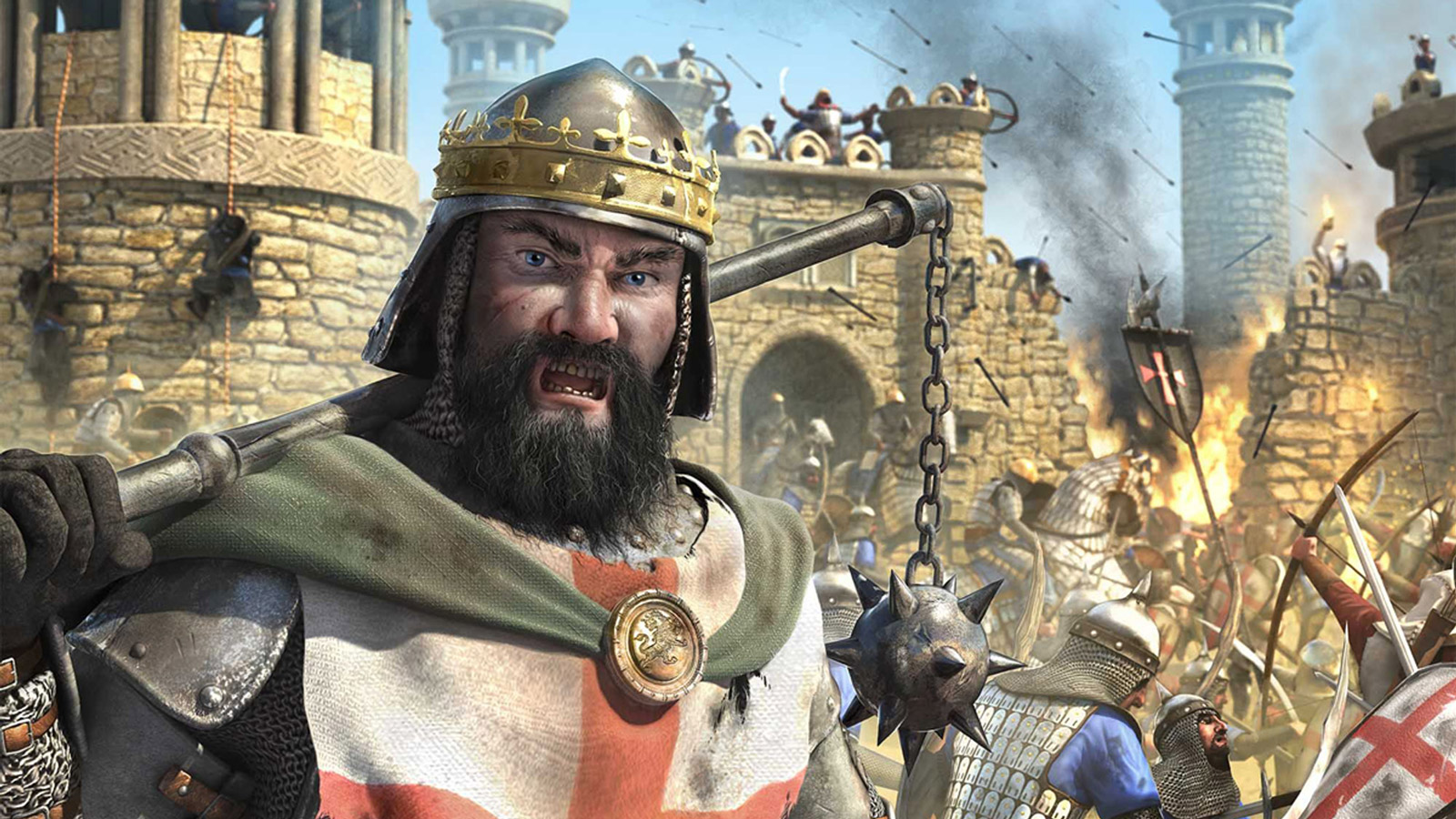You can download Stronghold Crusader 2 1600900 HD Wallpaper in 1600x900