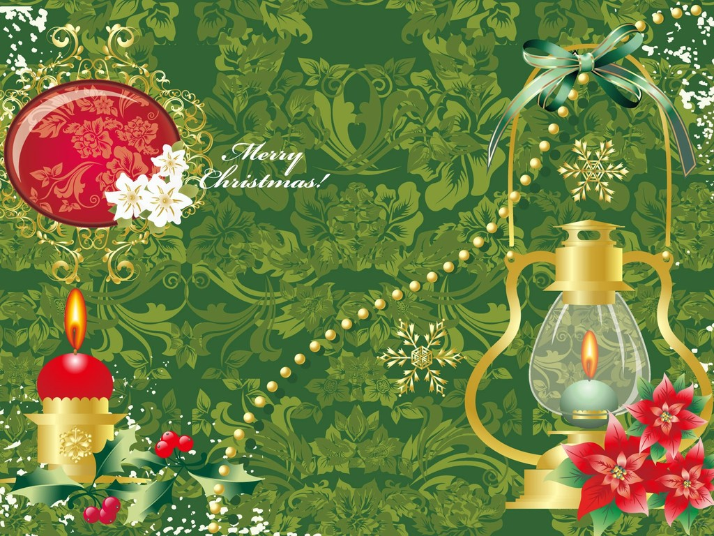 17435 christmas computer wallpaper 1024x768