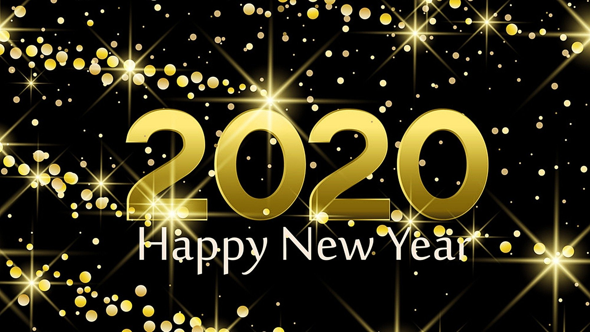 New Year 2020 HD Wallpaper Background Image 1920x1080 ID 1920x1080