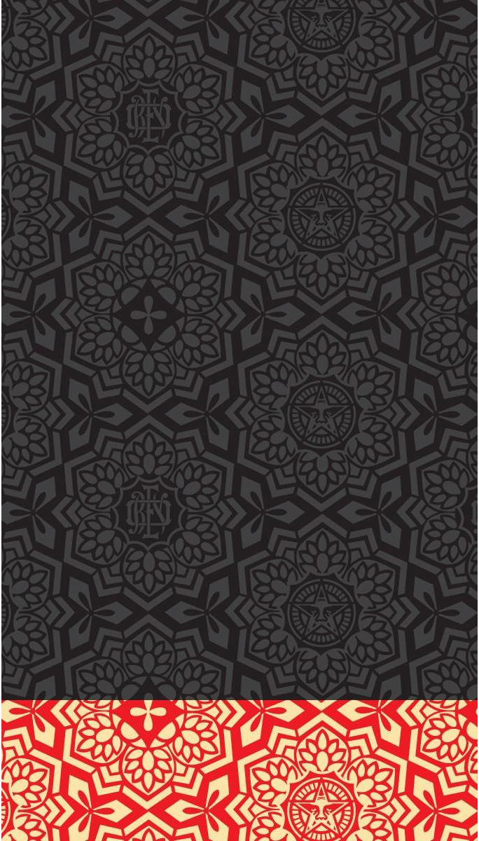 Obey iPhone 5 Wallpaper by LindsayCookie 684x1200
