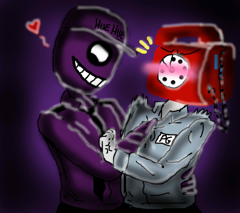 Free Download Download Purple Guy X Phone Guy Fnaf Yaoi By