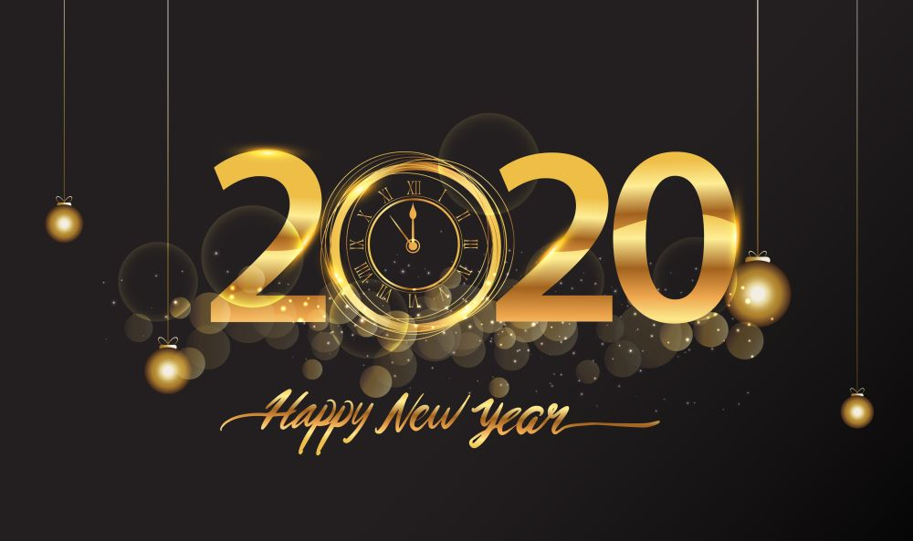 Happy New Year QuotesWishes Images 2020 1000x593