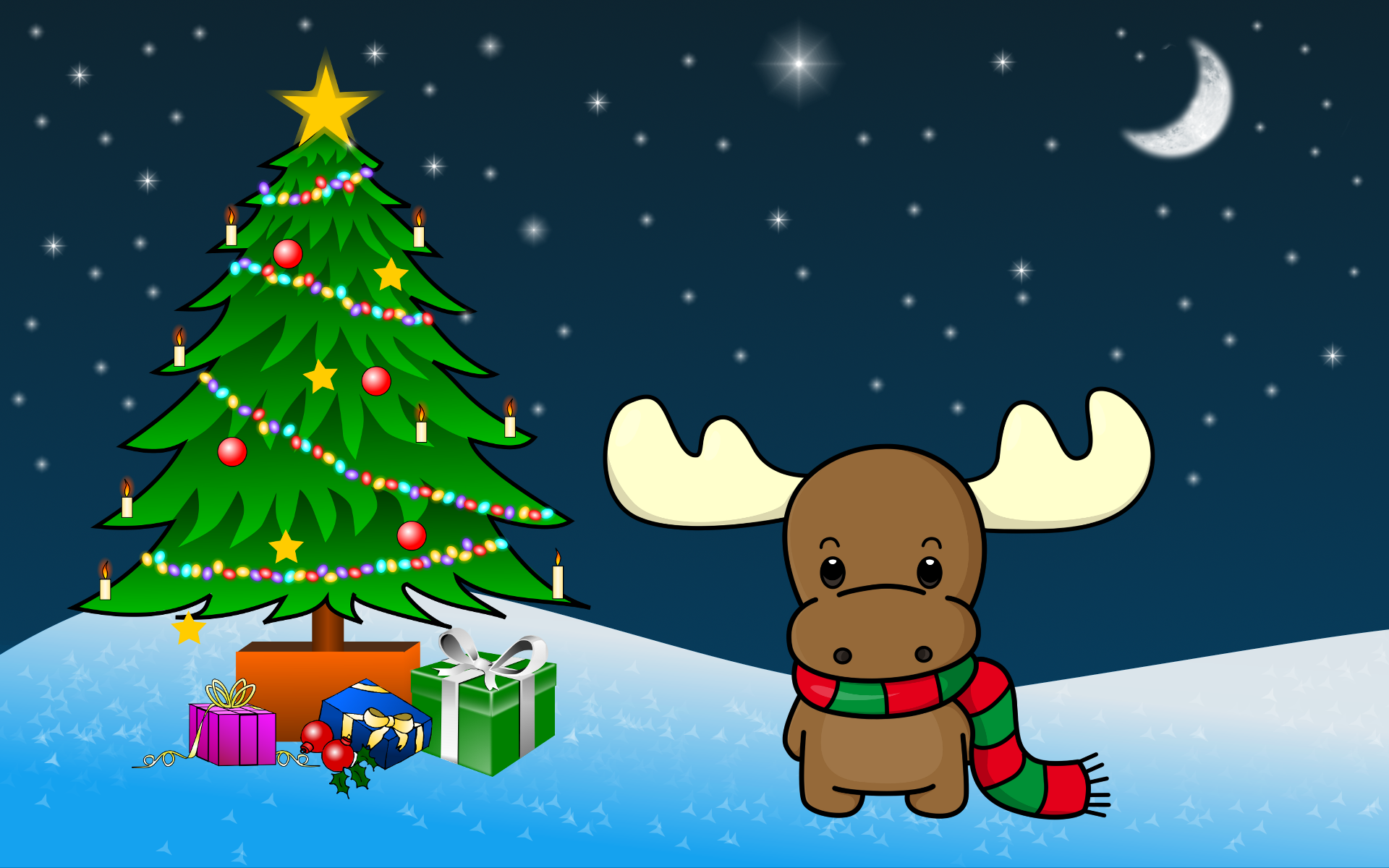 Cute Christmas Wallpaper Images amp Pictures   Becuo 1920x1200