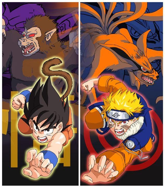 Naruto Vs Goku Live Wallpaper Download   Naruto Vs Goku Live Wallpaper 634x725