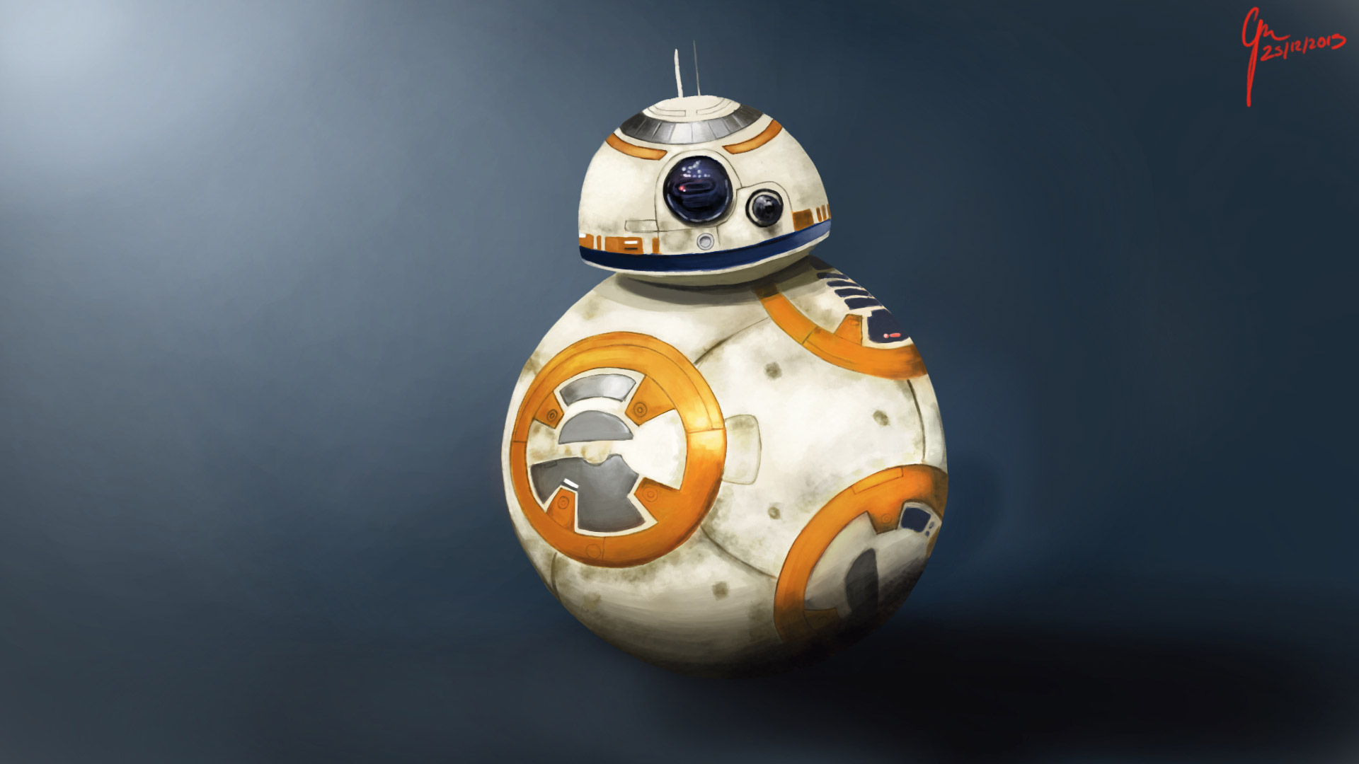 Star Wars BB 8 1920x1080 Wallpaper
