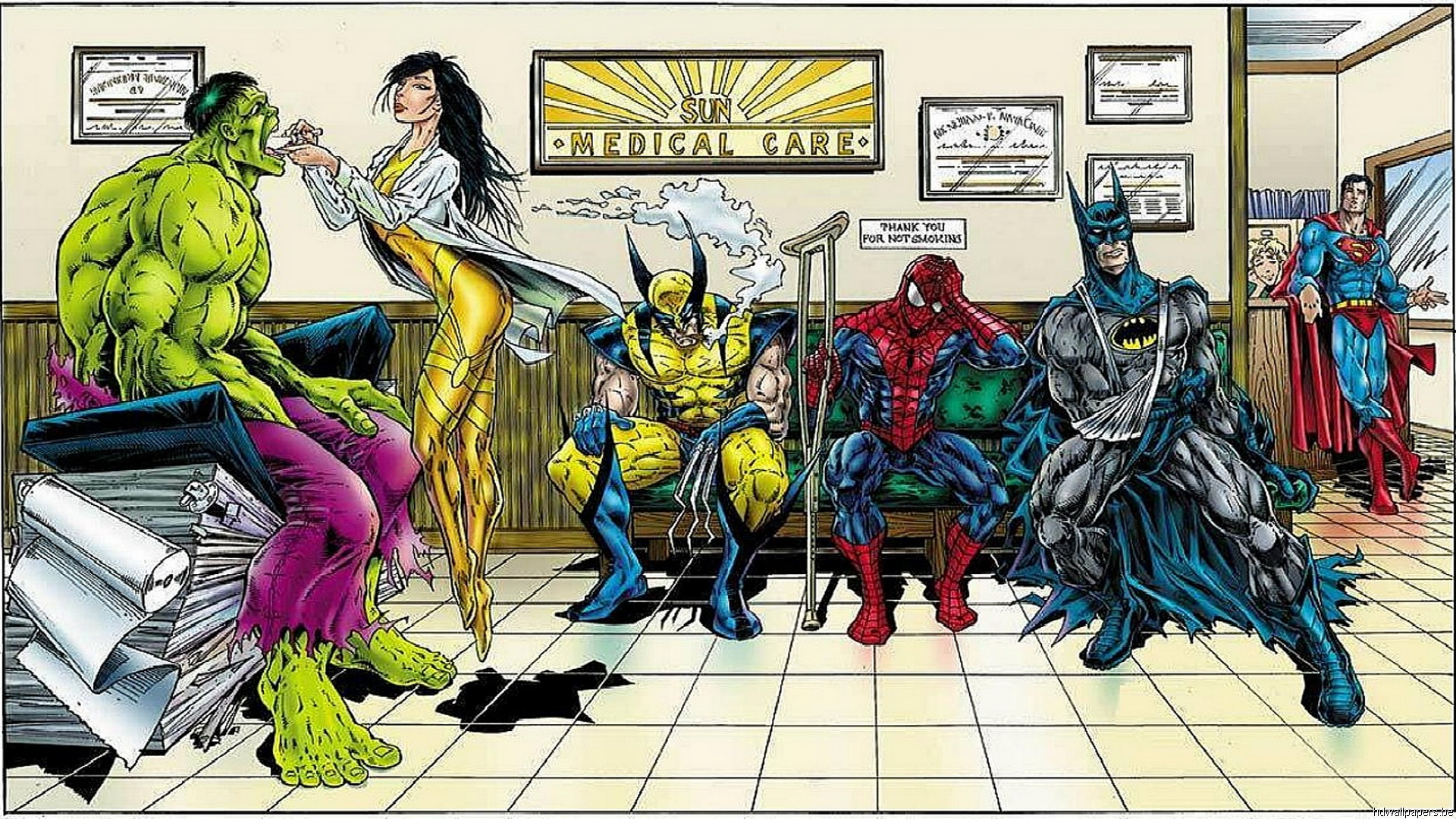 [44+] HD Comic Book Wallpapers on WallpaperSafari