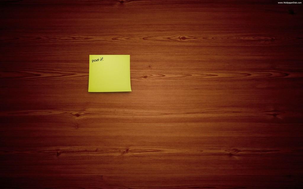 Sticky Notes Wood Wallpaper Desktop 7970 Wallpaper ForWallpapers 1024x640