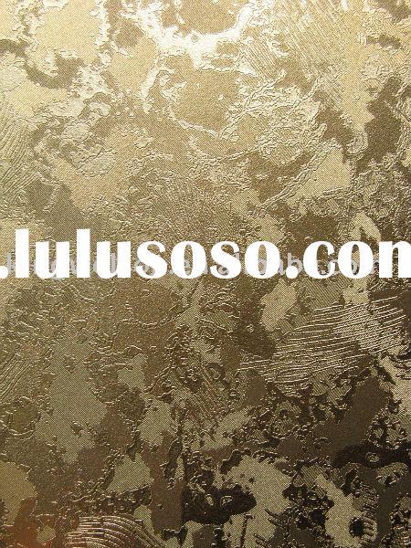metallic wallpaper/metallic wallcovering/gold foil wallpaper for sale ...