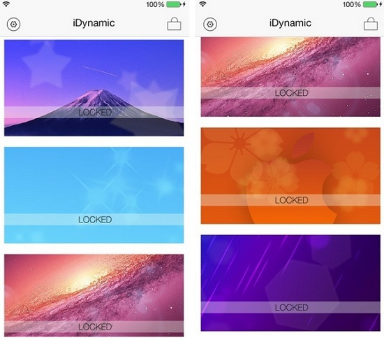 Cydia App For iOS 7 Dynamic Wallpaper Auto Changing iPhone Background 550x486