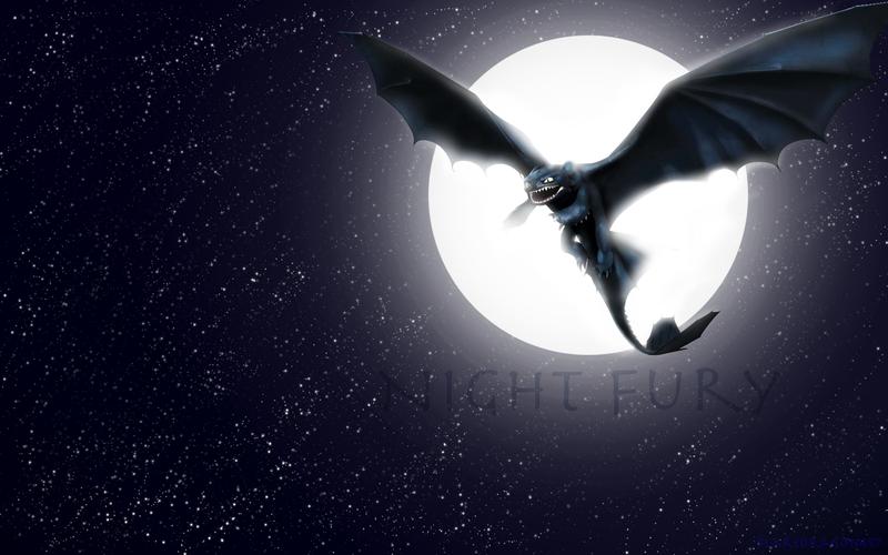 Night Fury Wallpaper by RealBarenziah 800x500