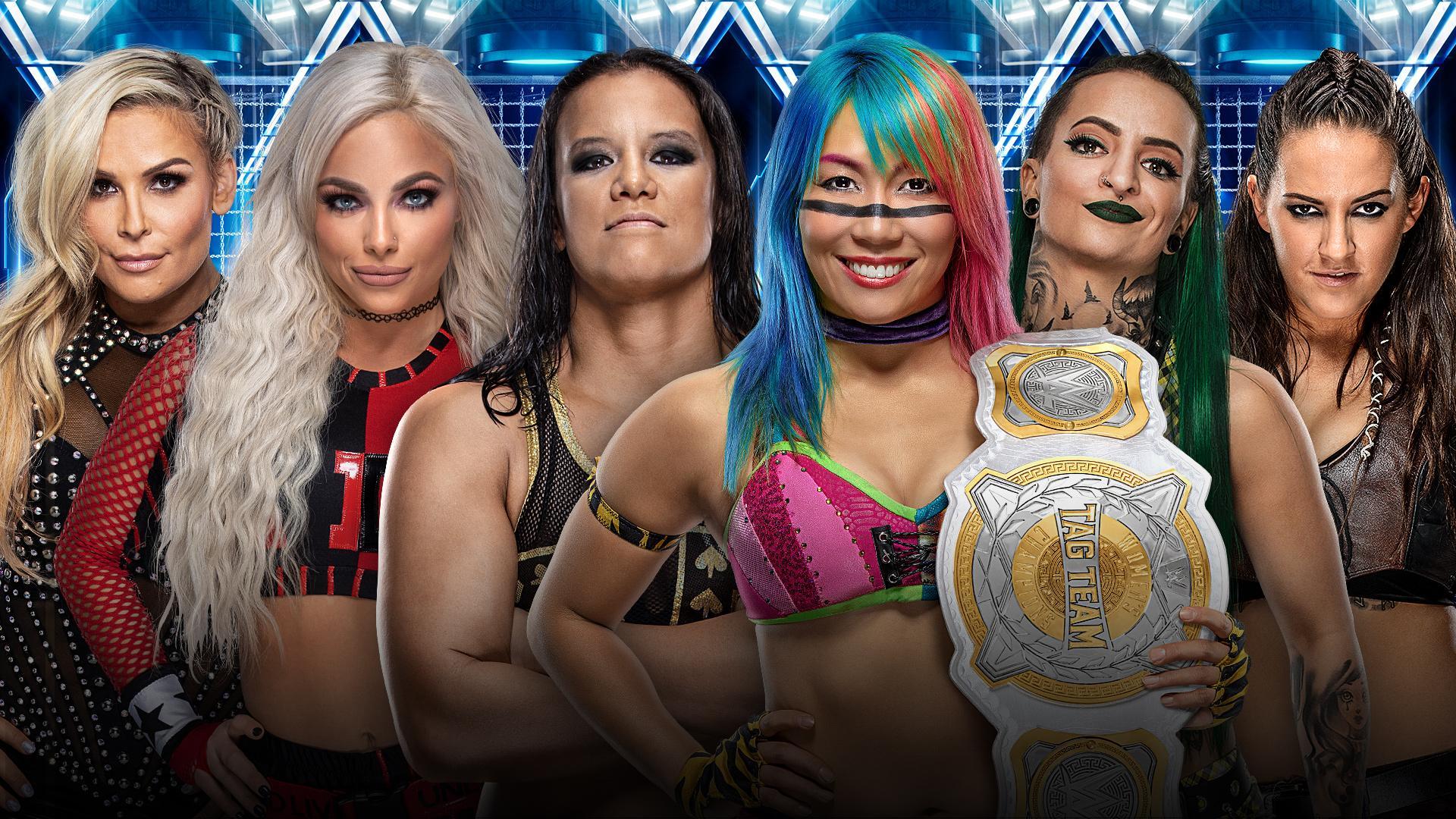 WWE Elimination Chamber Results Womens Chamber Match 1920x1080